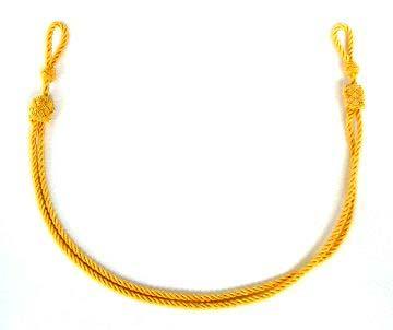アゴ紐 金ロープ